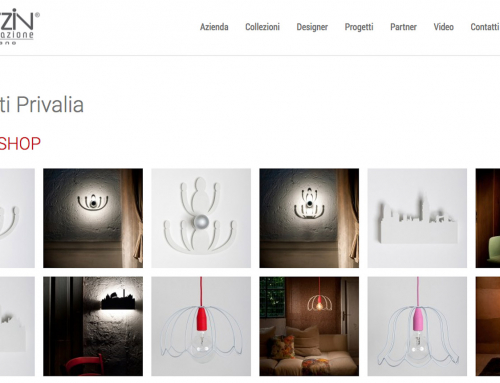Lampade di Design per Catalogo E-commerce