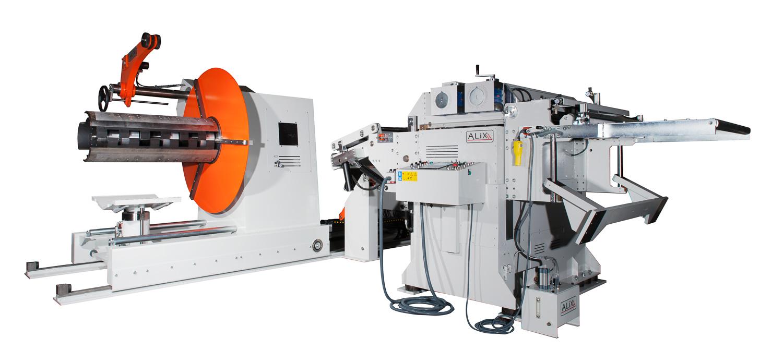fotografo industriale macchinario linea di produzione alix
