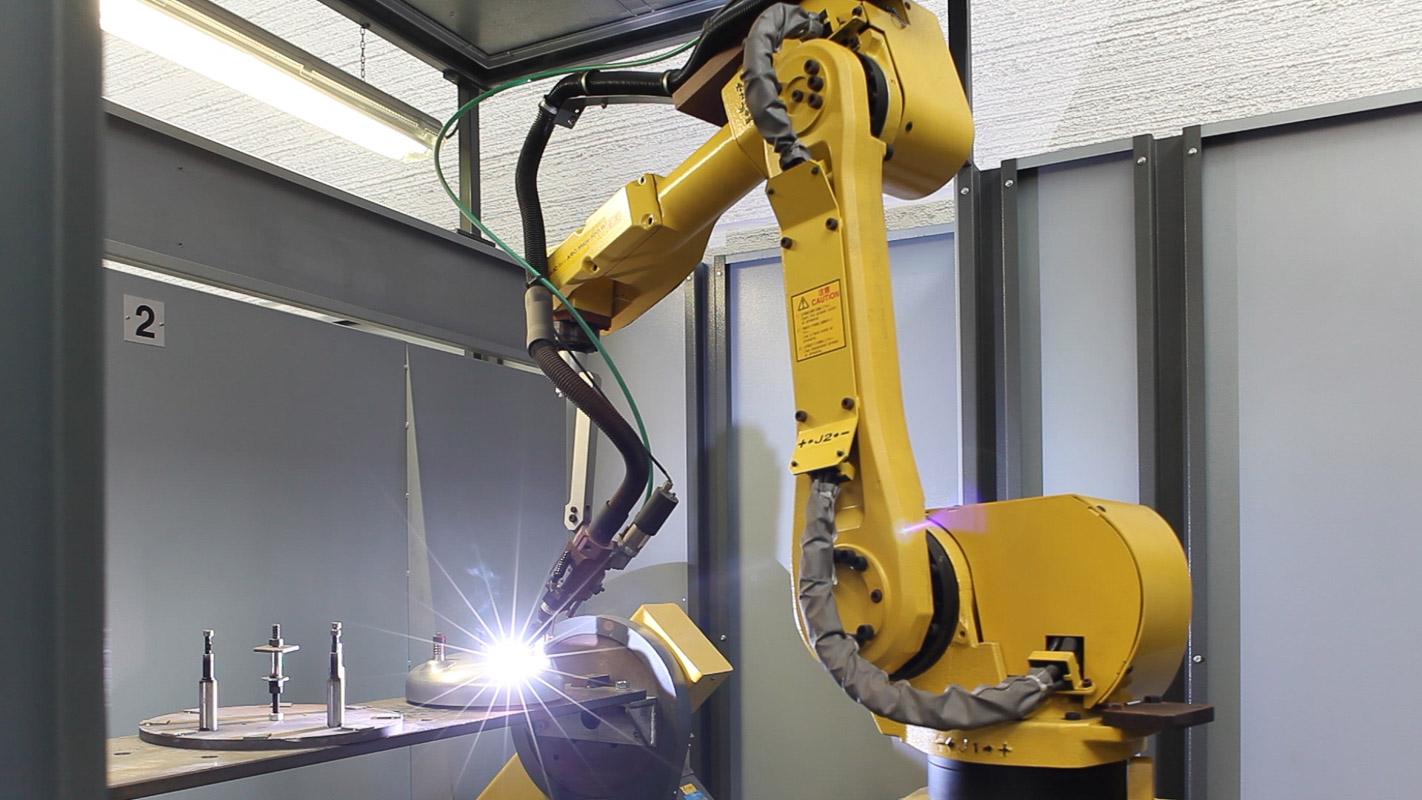 saldatura robot