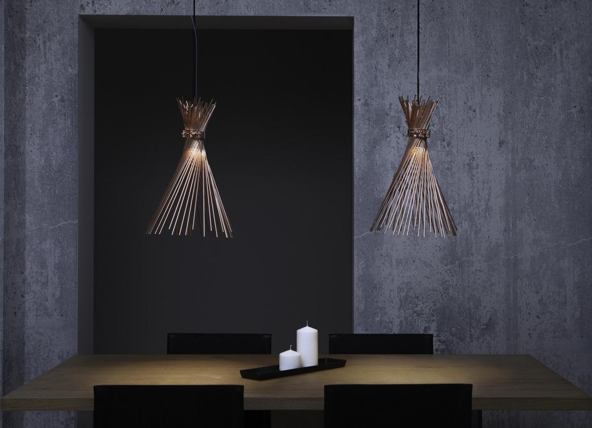 Fotografo interni lampade design sospensioni